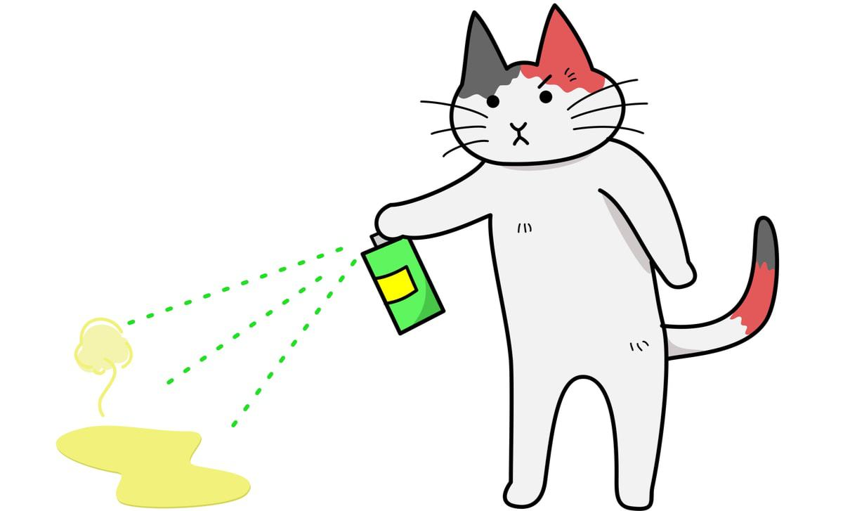 eliminate cat pee smell