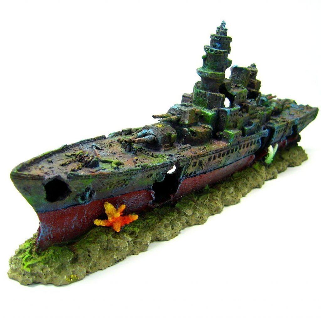 warship aquarium