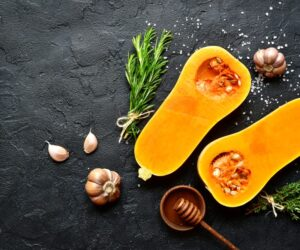 Butternut Squash on a table