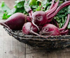 beetroot on a plate