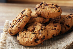 cookies with chokolate