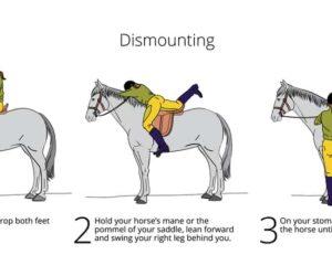 how to dismount